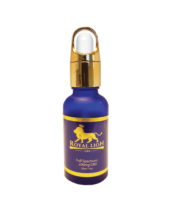 Premium Full Spectrum CBD oil, 400mg royal lion CBD oil, buy cbd oil online
