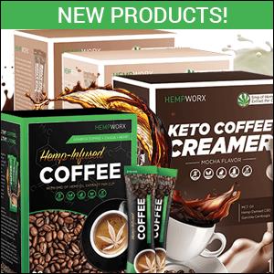 HempWorx CBD Coffee, HempWorx Coffee Creamers