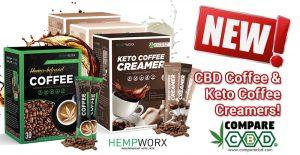 HempWorx Coffee, HempWorx Keto Creamer, CBD Coffee