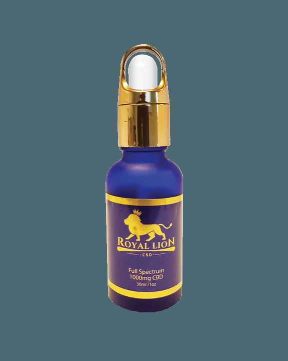 Full Spectrum CBD oil - Royal Lion CBD Oil