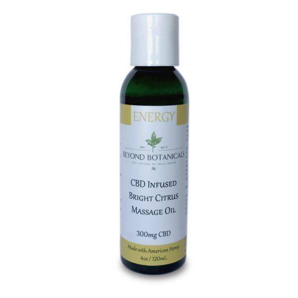 Beyond Botanical's - CBD Massage oil