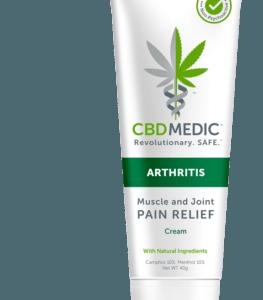 CBD Pain Relief Cream - CBD Medic
