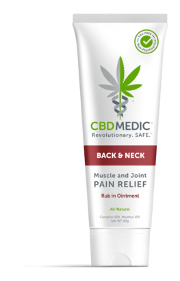 Back & Neck Relief Rub - CBD Medic