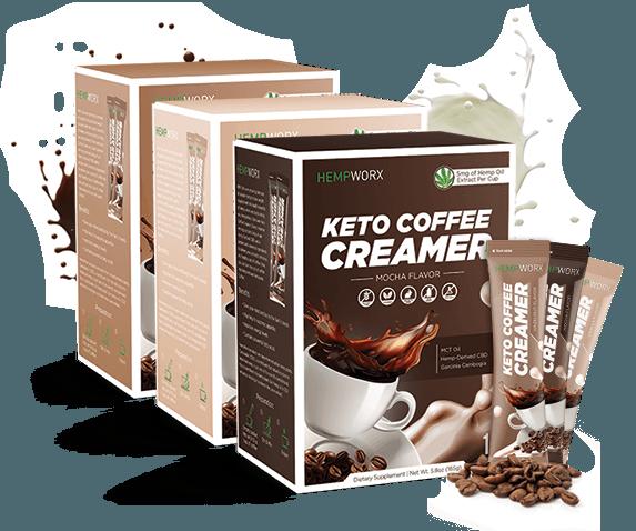 Keto Coffee Creamers , HempWorx Coffee Creamers
