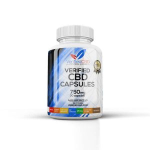 Verified CBD - 25mg CBD Capsules