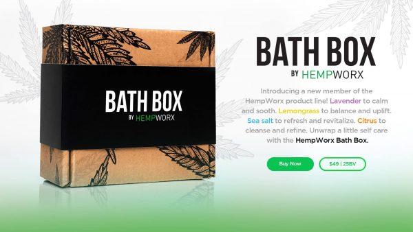 HempWorx CBD Bath Bombs