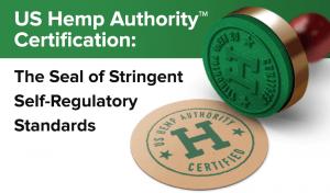 HempWorx US Hemp Authority Certificate Seal