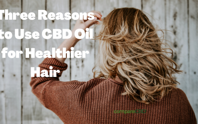 Three Reasons to Use CBD Oil for Healthier Hair
